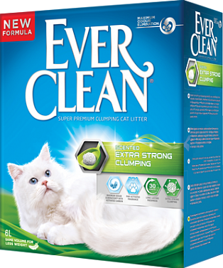 EVER CLEAN Extra Strong Clumping Scented Наполнитель д/кошек с ароматизатором