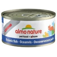 ALMO NATURE LEGEND кон. д/кошек с Океанической рыбой 75% мяса
