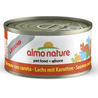 ALMO NATURE LEGEND кон. д/кошек с Лососем и Морковью 75% мяса