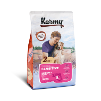 Karmy Sensitive Medium&Maxi Adult сух. корм для собак средних и крупных пород, с лососем